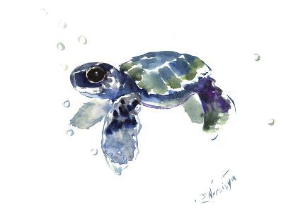 Baby Sea Turtle-Suren Nersisyan-Art Print