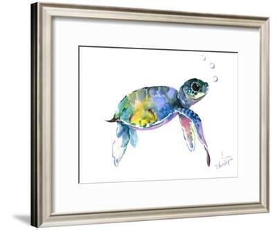 Baby Sea Turtles 2-Suren Nersisyan-Framed Art Print