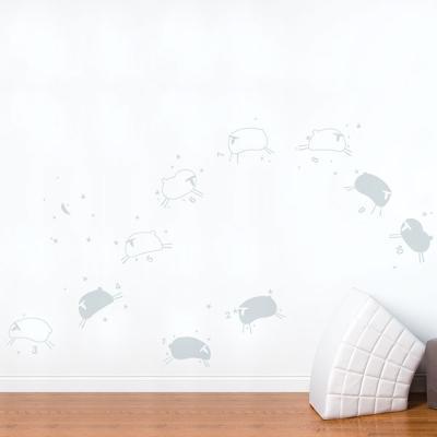 Baby Sheep Wall Decal--Wall Decal