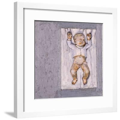 Baby Sleeping 2, 2007-Evelyn Williams-Framed Giclee Print