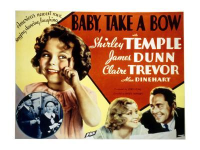 Baby Take a Bow, Shirley Temple, Claire Trevor, James Dunn, 1934--Photo