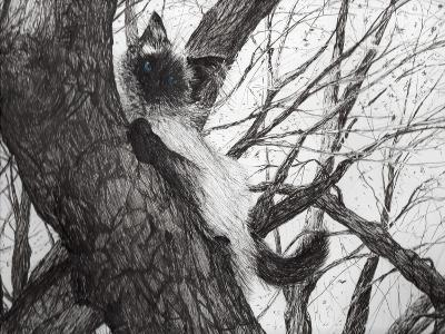 Baby Up the Apple Tree, 2006-Vincent Alexander Booth-Giclee Print