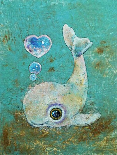 Baby Whale-Michael Creese-Art Print