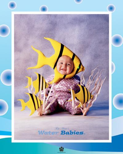 Baby Yellow Fish-Tom Arma-Art Print