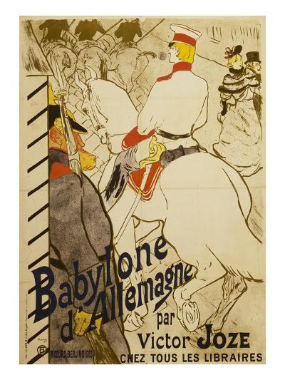 Babylon D'Allemagne-Henri de Toulouse-Lautrec-Giclee Print