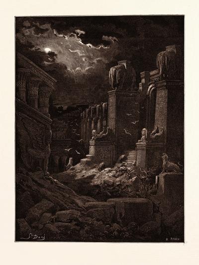 Babylon Fallen-Gustave Dore-Giclee Print