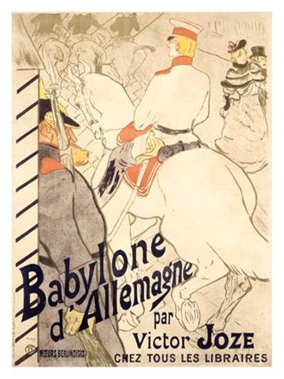 Babylone d'Allemagne-Henri de Toulouse-Lautrec-Giclee Print