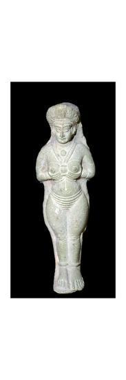 Babylonian terracotta statuette of Astarte. Artist: Unknown-Unknown-Giclee Print