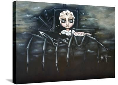 Babysitter-Angelina Wrona-Stretched Canvas Print