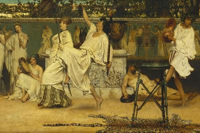 Bacchanal, 1871-Sir Lawrence Alma-Tadema-Giclee Print