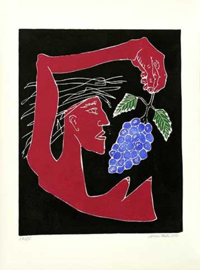 Bacchantin, c.2000-Werner Reuber-Limited Edition