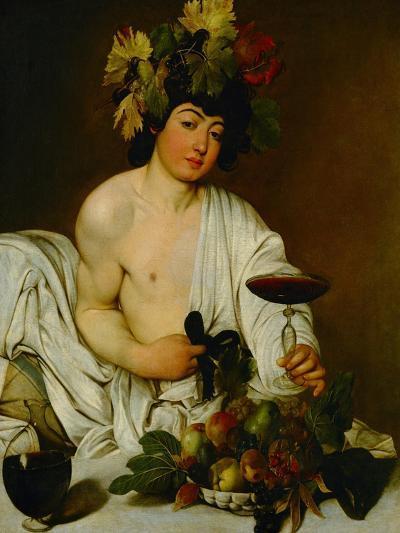 Bacchus, 1589-Caravaggio-Giclee Print