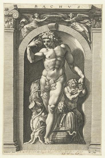 Bacchus, 1592-Hendrik Goltzius-Giclee Print