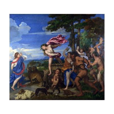 Bacchus and Ariadne, 1520-1523-Titian (Tiziano Vecelli)-Giclee Print