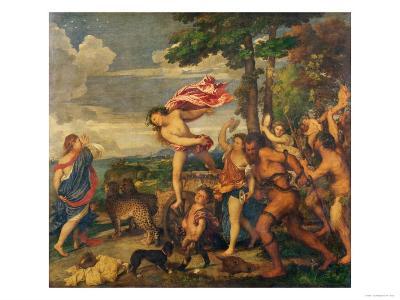 Bacchus and Ariadne, 1520-23-Titian (Tiziano Vecelli)-Giclee Print