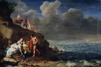 Bacchus and Ariadne on the Island of Naxos, 17th Century-Cornelis van Poelenburgh-Giclee Print