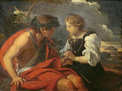 Bacchus and Ariadne-Pier Francesco Mola-Giclee Print