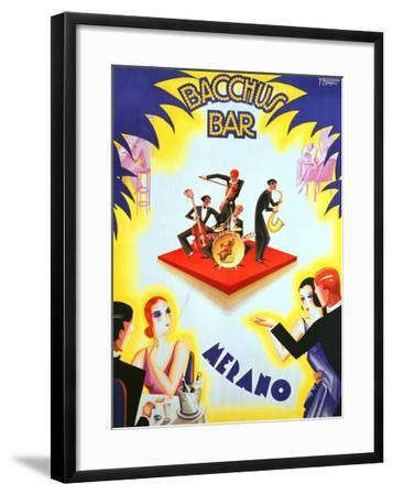 Bacchus Bar--Framed Giclee Print