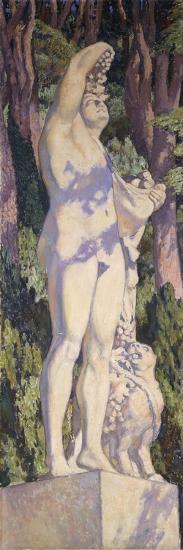 Bacchus, C. 1920-1924-Th?o van Rysselberghe-Giclee Print