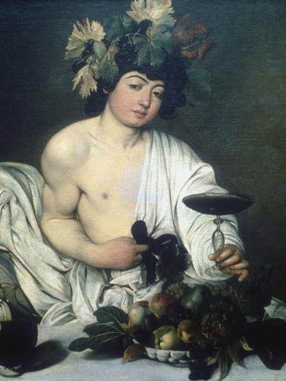 Bacchus, C1597-Caravaggio-Giclee Print