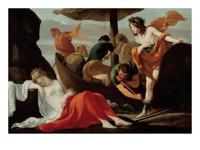 Bacchus Discovering Ariadne on Naxos-Louis Le Nain-Giclee Print