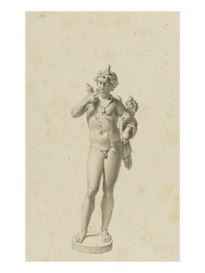Bacchus jeune-Jean-Baptiste Joseph Wicar-Giclee Print