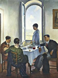 Afternoon in Fiesole by Bacci Baccio Maria