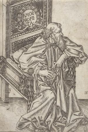 Amos, from 'The Prophets', C.1475