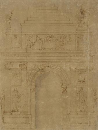 Design for a Triumphal Archway