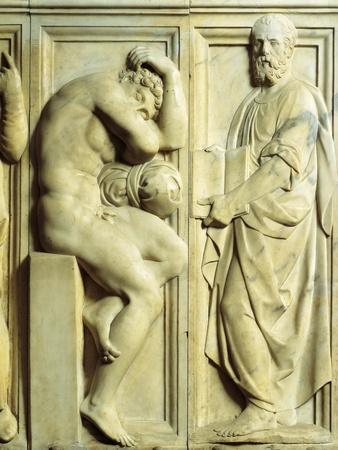 Prophet and Nude Figures