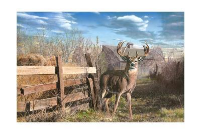 Back Forty Buck-Kevin Daniel-Art Print