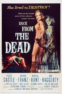 Back from the Dead, (aka Bury Me Dead), Peggie Castle, 1957