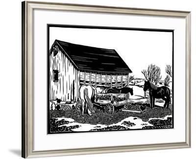 Back Lot-Frank Redlinger-Framed Art Print