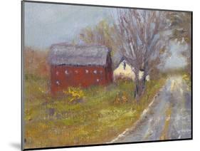 Back Road Barn I-Marilyn Wendling-Mounted Art Print