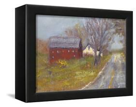 Back Road Barn I-Marilyn Wendling-Framed Stretched Canvas