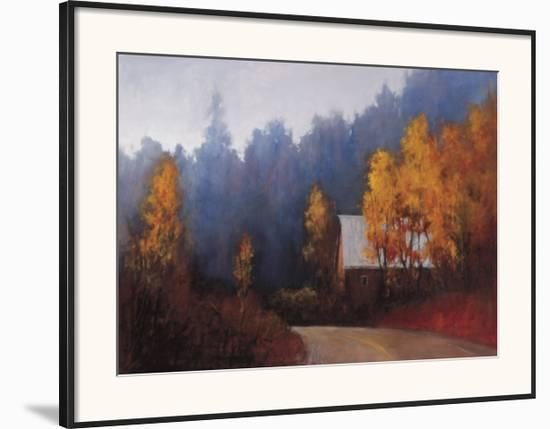 Back Roads-Ramona Youngquist-Framed Art Print