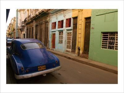 Back Street Cuba-Charles Glover-Giclee Print