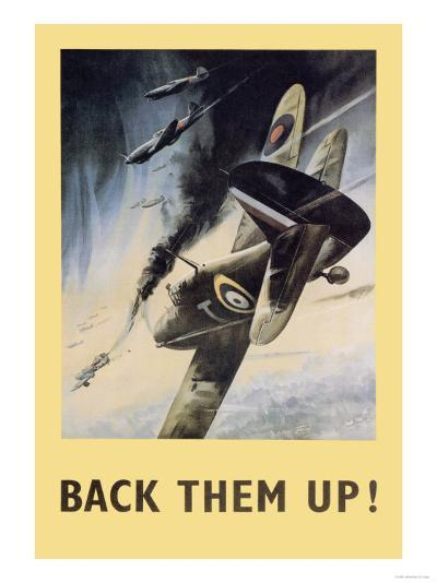 Back Them Up!- Jobson-Art Print