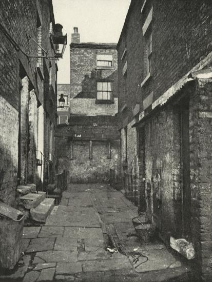 'Back-to-Back Houses in the North of England', (1938)-Unknown-Giclee Print