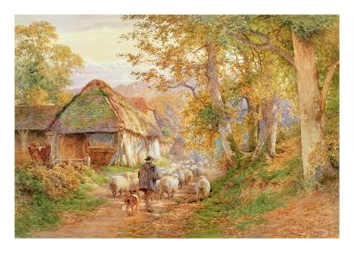 Back to the Fold-Charles James Adams-Giclee Print