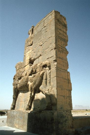 Back View of the Gate of All Nations, Persepolis, Iran-Vivienne Sharp-Photographic Print