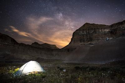Backcountry Camp under the Stars-Lindsay Daniels-Photographic Print