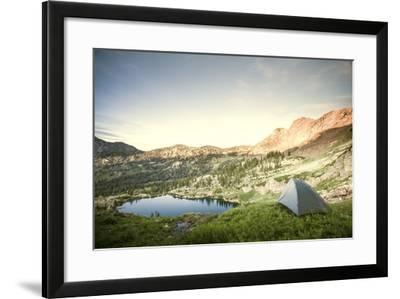 Backcountry Camping-Lindsay Daniels-Framed Photographic Print