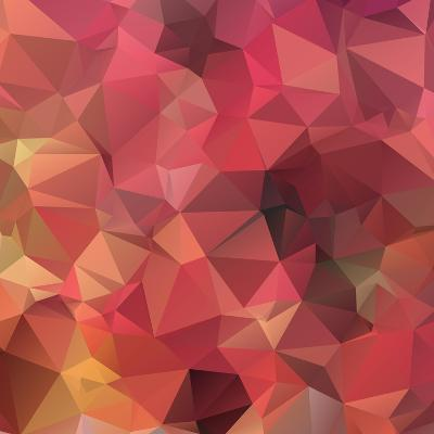 Background Abstract Geometric Rumpled Triangular Polygon Style-JAH MICRO-Art Print
