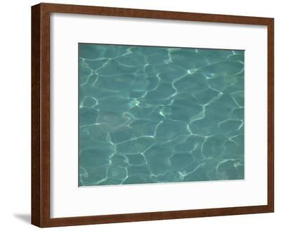 Background of Wavy, Blue Pool Water