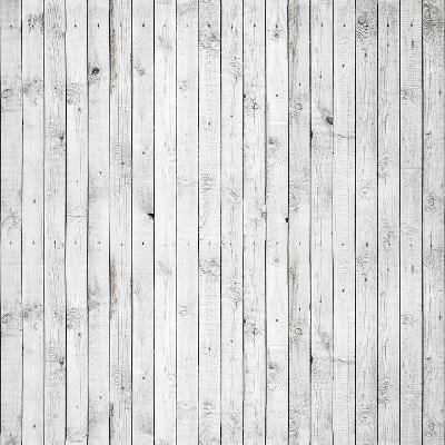 Background Texture of Old White Painted Wooden Lining Boards Wall-Eugene Sergeev-Art Print