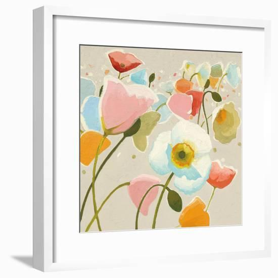 Backlit Confetti v2-Shirley Novak-Framed Art Print