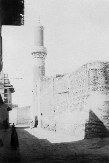 Backstreet and Old Mosque, Baghdad, Iraq, 1917-1919--Giclee Print