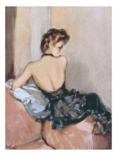 Backward Glance-David Wright-Giclee Print