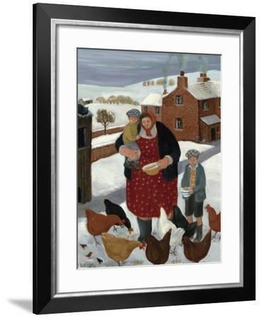 Backyard in Winter-Margaret Loxton-Framed Giclee Print